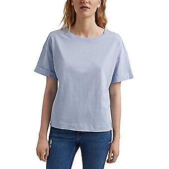 edc by Esprit 031CC1K328 T-Shirt, 445/Lavender Light Blue, S Woman