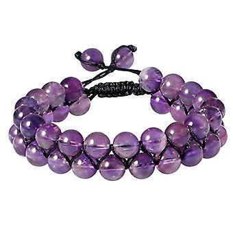 KYEYGWO Bracelet for men and women, 8 mm of Chakra energy with adjustable crystal beads, for yoga pairs, Ref bracelet. 0715444107504
