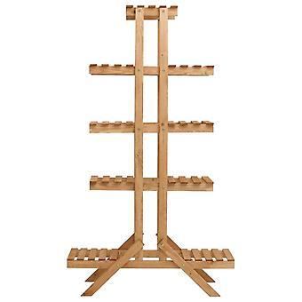 vidaXL bloemstandaard 83x25x142 cm spar hout