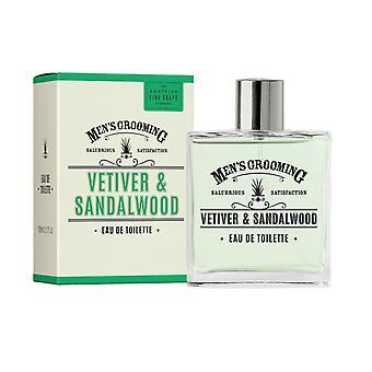 Vetiver & Sandeltræ Eau de Toilette 100ml Gents Aftershave af skotske Fine Sæber