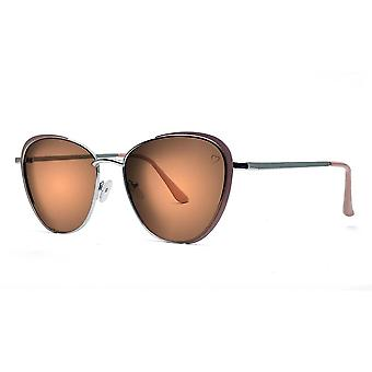 Ruby rocks sam jo cateye sunglasses in silver