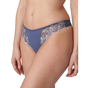 PrimaDonna Deauville 0661810-NIS Women's Nightshadow Blue Embroidered Thong