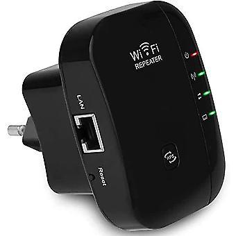 WiFi Booster WiFi מגבר 300Mbps אלחוטי מיני אלחוטית מגבר אותות אלחוטיים מגבר אותות 2.4GHz מגבר משולב אנטנות IEEE 802.11 b / g / n ממשק LAN סטנדרטי WPS- ProtectionBlack