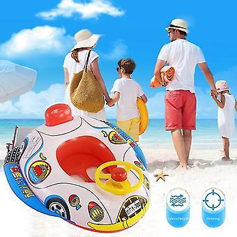Sommer aufblasbare Float Matratze Kind Schwimmen Pool Wasser Cartoon Sitz Auto Trainer
