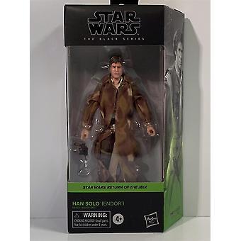 Star Wars The Black Series Han Solo Endor Return of the Jedi Hasbro E9364