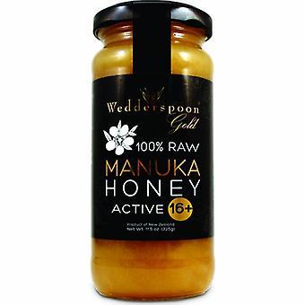 Wedderspoon Wedderspoon 100% Raw Manuka Honey - KFactor 16, 11.5 OZ