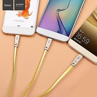 Hoco U9 Three In One Jelly Knitted Charger Cable Usb 3.0+type C+micro Usb