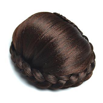 נשים בובו שיער קצר ישר שיער סינטטי פאה עם פוני