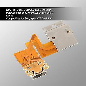 Νέο καλώδιο λιμένων συνδετήρων χρέωσης usb Flex Cabel για το ταμπλέτα Z της Sony Xperia