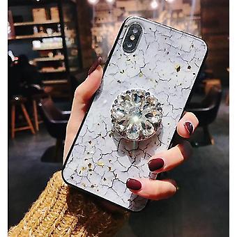2021 Uusi muoti flash timantti turvatyynyn kiinnike matkapuhelinkotelo
