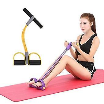 4pcs Widerstand Pull Ropes Übungsleiter Rower Bauch Band Home Gym Sporttraining