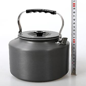 Outdoor 2l tea kettle picnic large portable teapot coffee maker aluminum alloy camping equipment stove accessories