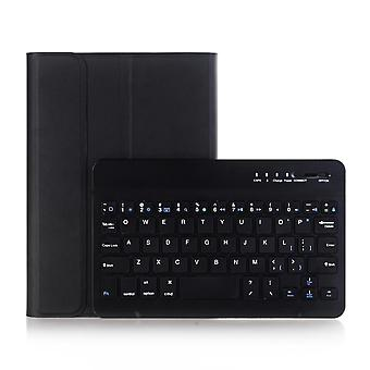 Tastiera ultrasottile Bluetooth wireless 2 in 1 staccabile + custodia in pelle PU per iPad da 10,2 pollici