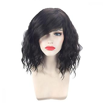 Sexy Lady Women's Fashion Wavy Curly Short Hair Full Wigs Cosplay Party Wig