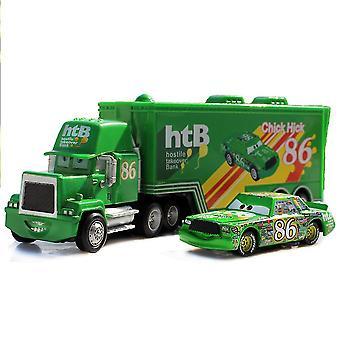 Biler Cargo Racing Truck Chick Hick 86 Htb Racerbil Trykstøbt legering Biler Model Legetøj Children's Gift