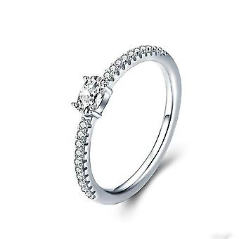 Wedding Ring Silver plating Engagement Rings for Women Jewelry_8
