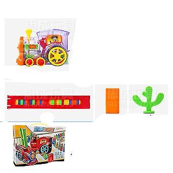 Plastic Domino's Blokken Brick Diy Sound Light Toy Voor /