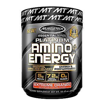 Platinum Amino + Energy, Extreme Orange - 295 grams