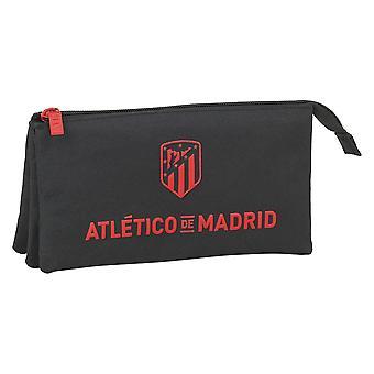 Triple Holdall Atlético Madrid Black