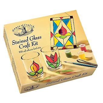 House of Crafts Stained Glass Craft Kit