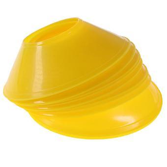 Soccer Training Sign Dish Pression Resistant Cones Marker Discs Bucket Football