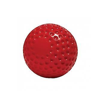 Gunn &moore cricket bowling maskin ball rød hard PVC trening bøtte av 24