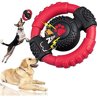 Dog chew toys for aggressive chewers large breed, lifetime replacement, tough indestructible dog squeaky toys for large medium small dogs