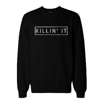 Killin ' det grafiska tröja – svart Unisex tröja tröjor