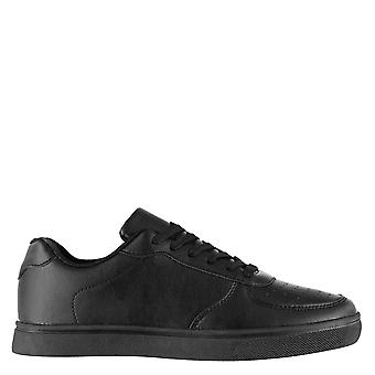 Fabric Mens Via Trainers Sneakers Lace Up Cushioned Insole Rubber Outsole Shoes