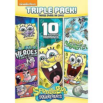Spongebob Squarepants Triple [DVD] USA import
