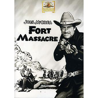 Fort Massacre [DVD] USA import