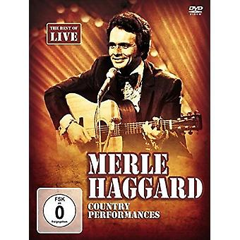Merle Haggard - Country Perfomances [DVD] USA import