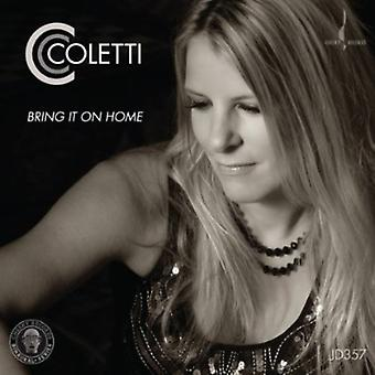 Cc Coletti - Bring It on Home [CD] USA import