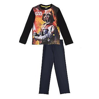Piżamy z długim rękawem Star Wars chłopców – zestaw