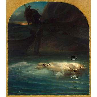 Paul Delaroche - The Young Martyr Poster Print Giclee