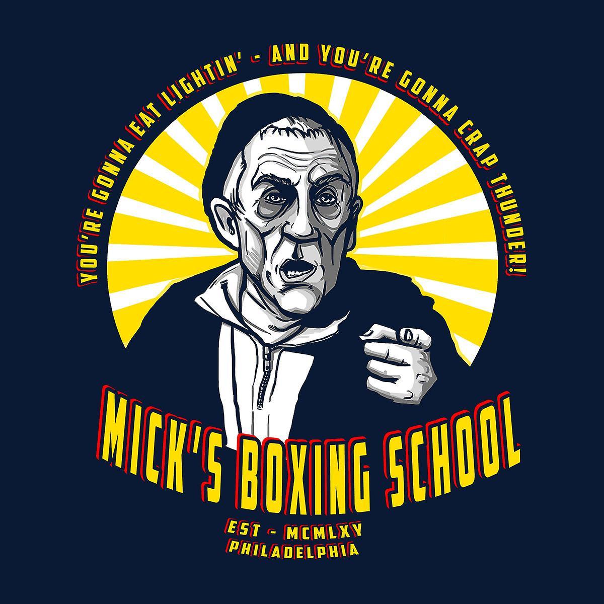 Micks boxeo rocoso chaqueta de Varsity de la escuela