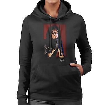 Alice Cooper Praying Hands Women's Hooded Sweatshirt