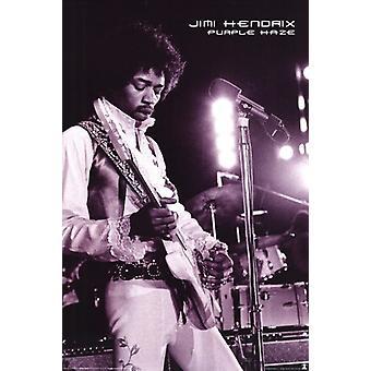 Джими Хендрикс - Пурпурная Дымка Плакат Плакат Печать