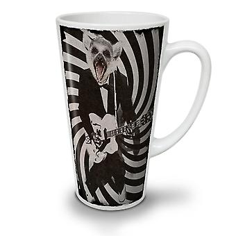 Guitar Beast Rock NEW White Tea Coffee Ceramic Latte Mug 12 oz | Wellcoda