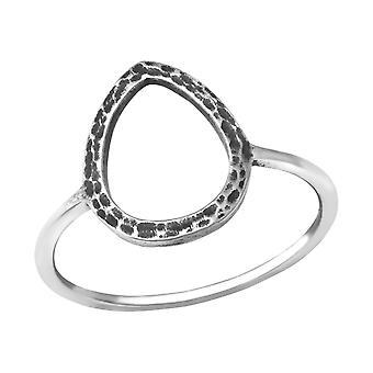 Teardrop - 925 Sterling Silver Inele Câmpia - W33824x