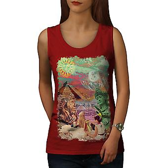 Sublime paysage femmes RedTank Top | Wellcoda