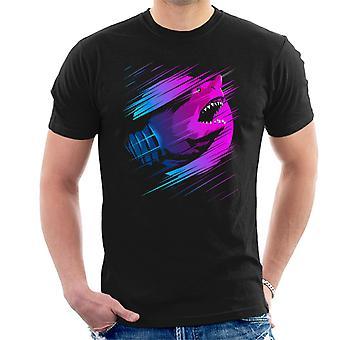 Steigende Shark erniedrigen Sie Männer T-Shirt