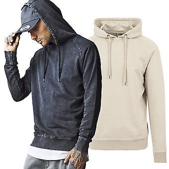 Urban klassikere - syre vaske Raglan Hoody sweater