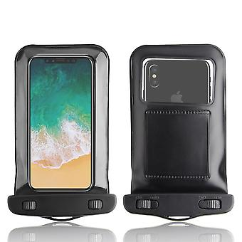 InventCase Waterproof Dustproof Bag Protective Case Cover for Apple iPhone X - Black