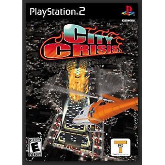 City Crisis (PS2)-fabriken förseglad