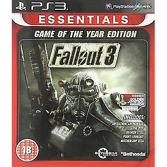 Fallout 3 Game Of The Year Edition (Essentials) (PS3) (UK) - Neu