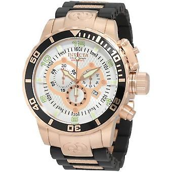 Invicta Corduba 10620 aus rostfreiem Stahl, Polyurethan-Chronograph Uhr