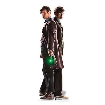 Le 10ème & 11ème docteur (50th Anniversary Special) - découpe