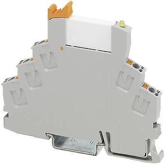 Phoenix Contato RIF-0-RPT-24DC/21AU Relay componente nominal tensão: 24 V DC Comutação atual (máximo.): 50 mA 1 change-over 1 pc (s)