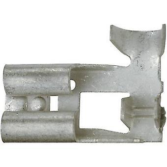 Receptáculo Klauke 3720 lâmina largura do conector: 6,3 mm conector espessura: 0.8 mm 90 ° não isolada o Metal 1 computador (es)